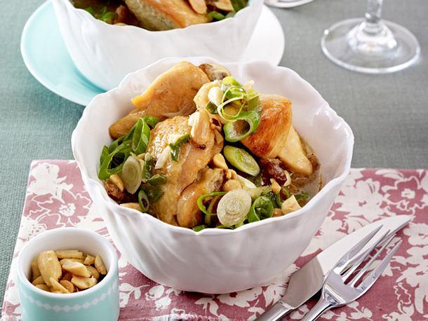 Puten-Erdnuss-Curry Rezept