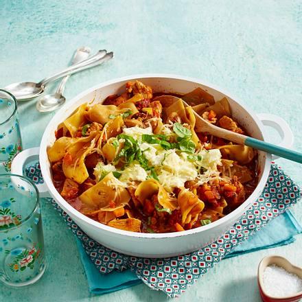 Puten-Lasagne-Stew Rezept