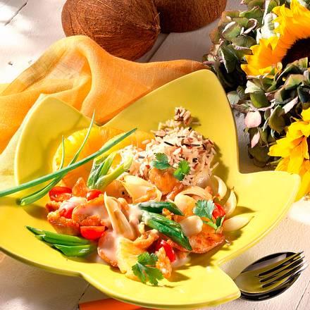 Puten-Ragout mit Ananas Rezept