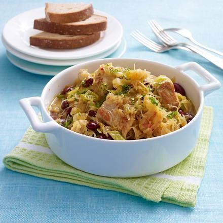 Puten-Sauerkraut-Topf Rezept