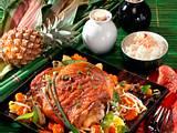 Putenbraten mit chinesischem Gemüse Rezept