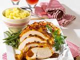 Putenbraten mit Curry-Senf-Honig-Kruste Rezept