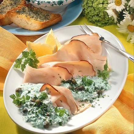 Putenbrust mit grüner Salsa Rezept