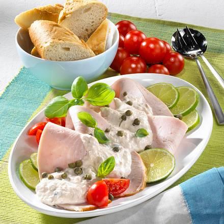 Putenbrust mit Thunfisch-Creme Rezept