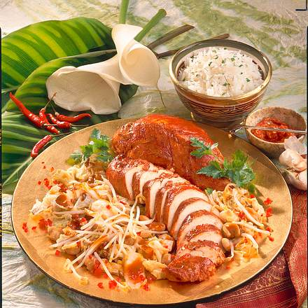 Putenfleisch Tandoori Rezept