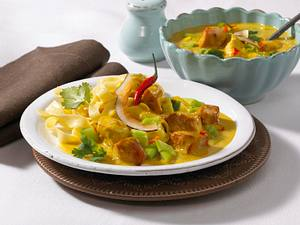 Putengulasch mit Curry Rezept