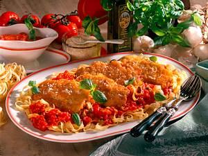 Putenschnitzel in Ei-Parmesanhülle Rezept
