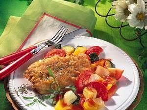 Putenschnitzel in Käsekruste Rezept