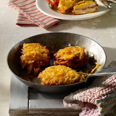 Putenschnitzel in Kartoffelhülle Rezept