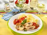 Putenschnitzel mit Mozzarella-Schinken-Füllung Rezept