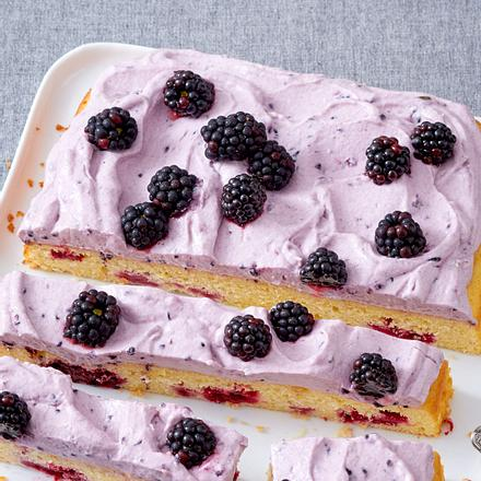 Quark-Brombeeren-Kuchen Rezept