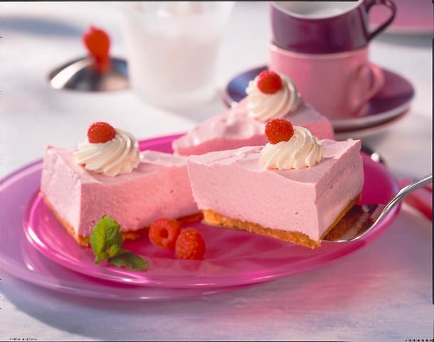 Quark-Himbeer-Ecken (Diabetiker) Rezept