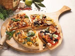Quark-Öl-Teig für Pizza Rezept