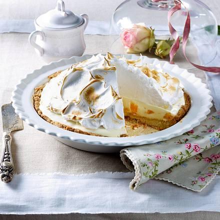 Quark-Sahne-Pie mit Mandarinen Rezept