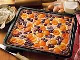 Quarkkuchen mit Früchten Rezept