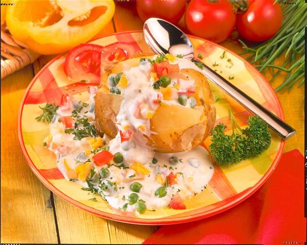 Quarksoße zu Kartoffel Rezept