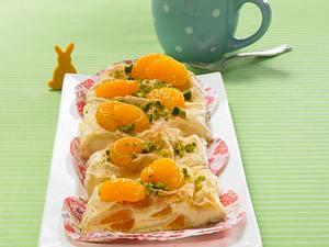 Quarkstrudel mit Mandarinen Rezept
