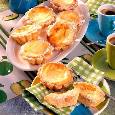 Quarktörtchen mit Apfelmus Rezept