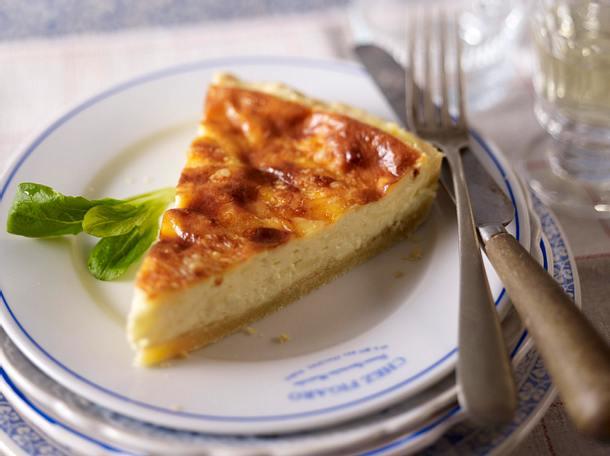 Quiche au fromage (Herzhafter Käsekuchen) Rezept
