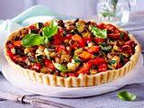 Quiche mit mediterranem Gemüse Rezept