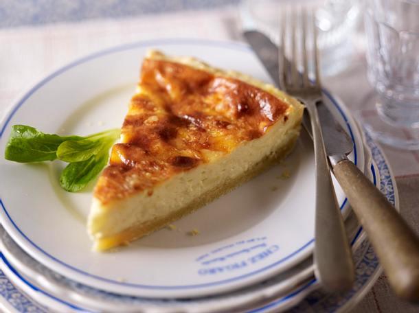 Quiche Vosgienne (Quiche mit Käse) Rezept