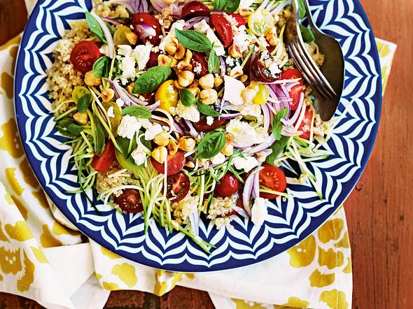 Quinoa-Salat mit Feta Rezept