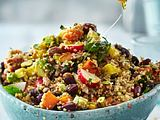 Quinoa-Salat mit Süßkartoffeln Rezept