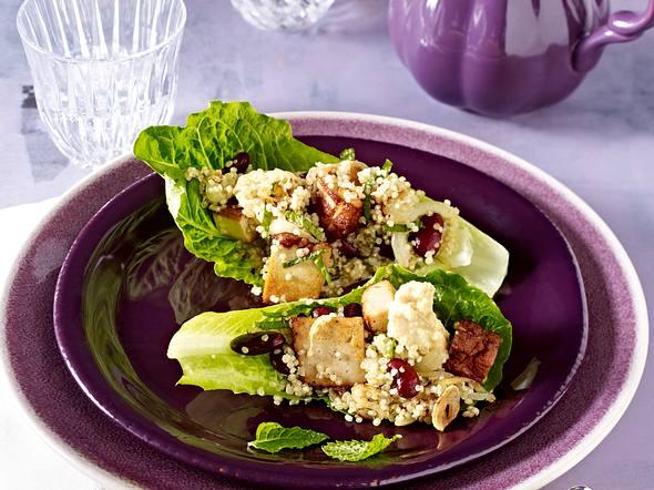 Quinoa-Salat-Wraps Rezept