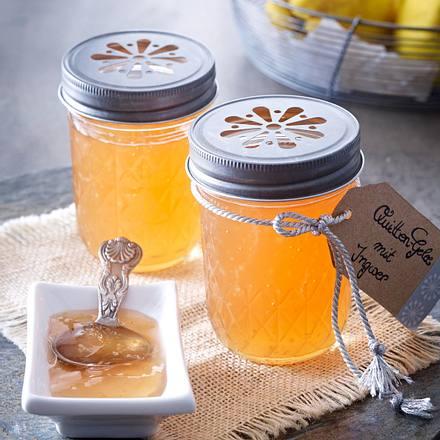 Quitten-Gelee mit Ingwer Rezept
