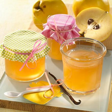 Quitten-Vanille-Gelee mit echtem Vanillemark Rezept
