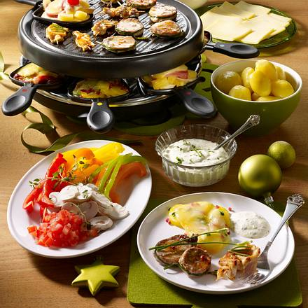 Raclette an Heiligabend Rezept