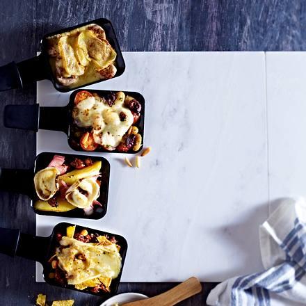 Raclette international - Pfännchen Servus Rezept