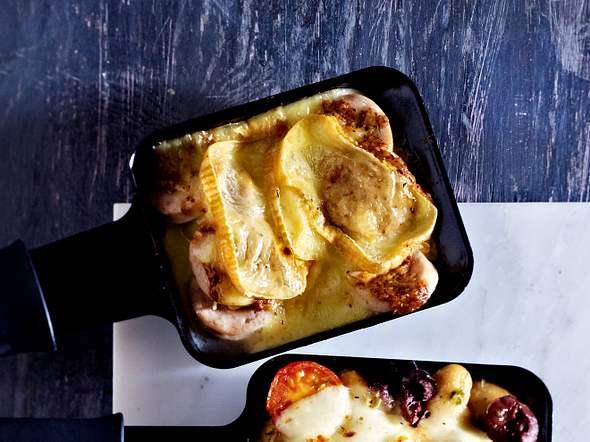 Raclette - Pfännchen Servus Rezept