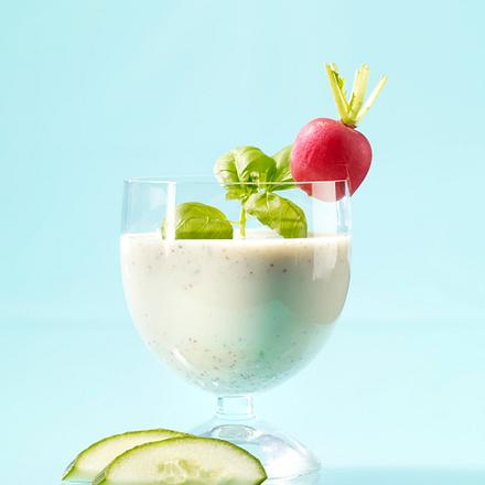 Radieschen-Gurken-Drink mit Selleriesaft Rezept