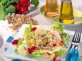 Radieschen-Rettich-Salat mit Sprossen Rezept