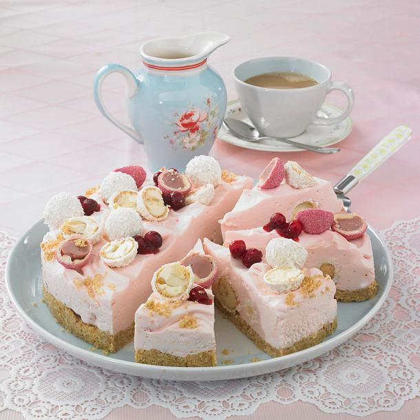 Raffaello-Cranberry-Torte Rezept