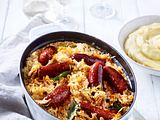 Rahm-Sauerkraut mit Chorizo Rezept