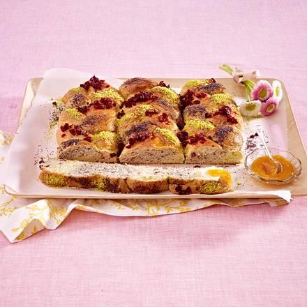 Rapunzel-Kuchen vom Blech Rezept
