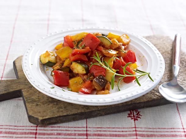 Ratatouille-Gemüse Rezept