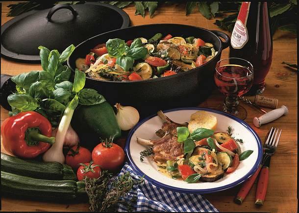 Ratatouille (Gemüseeintopf vom Mittelmeer) Rezept