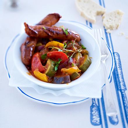 Ratatouille mit Merguez Rezept