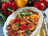 Ratatouille mit Mozzarella Rezept