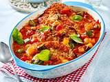 Ratatouille-Schnitzel aus dem Ofen (TITEL) Rezept
