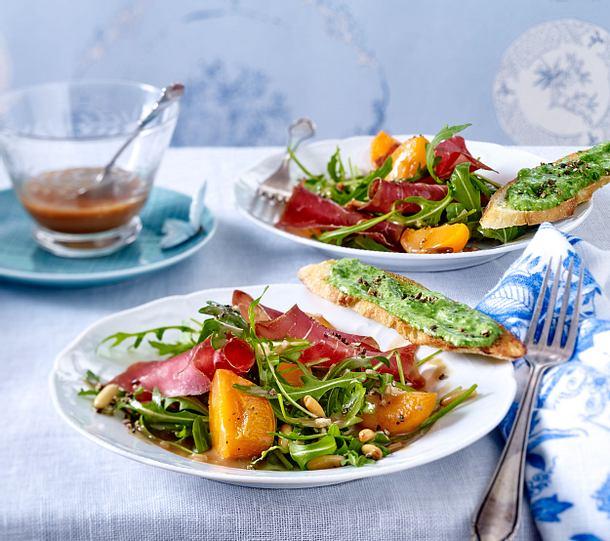 Rauke-Aprikosen-Salat Rezept