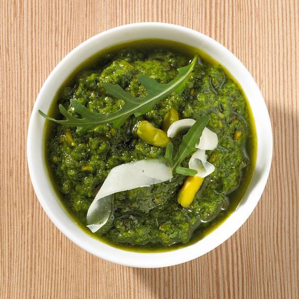 Rauke-Pistazien-Pesto Rezept