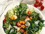Raukesalat mit Kirschtomaten Rezept