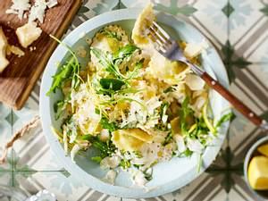 Ravioli in cremiger Zitronensoße Rezept