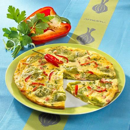 Ravioli-Omelett Rezept