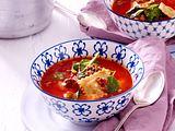 Ravioli-Suppe mit Hack Rezept