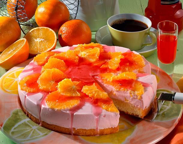 Red-Puschkin-Orangen-Torte Rezept